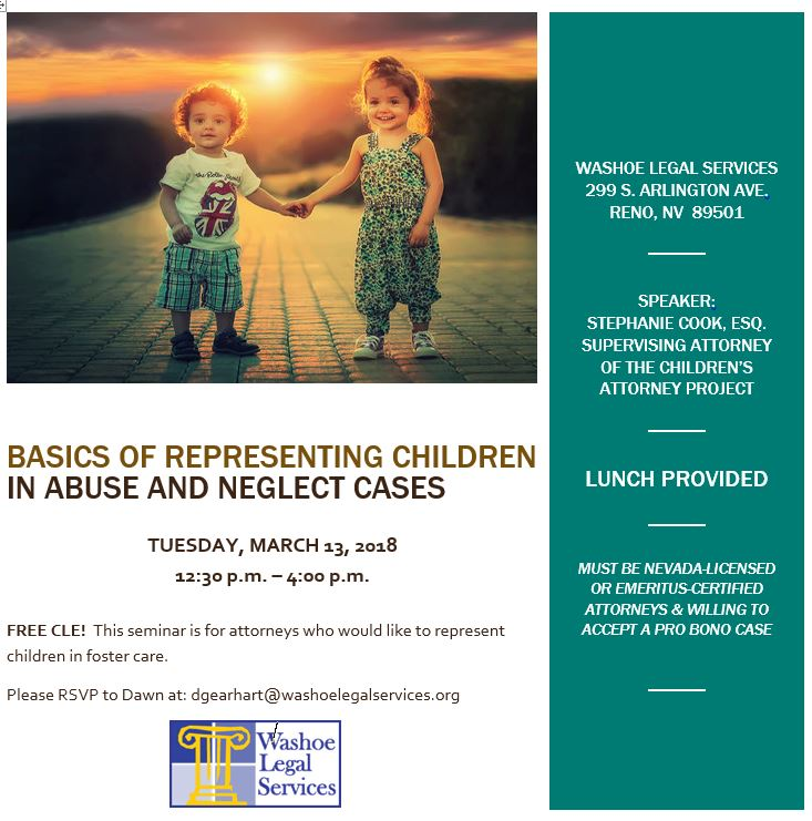 Washoe Legal Services Training