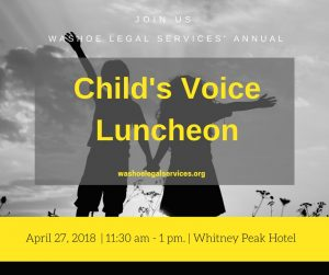 Washoe Legal Services Child Luncheon 2018