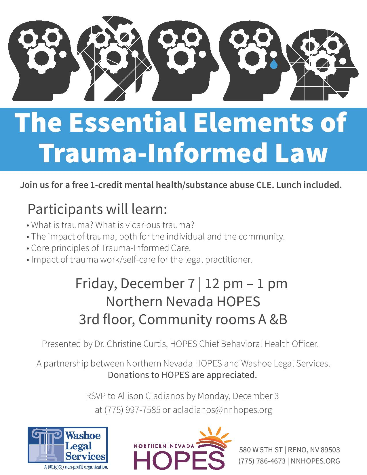 CLE - Essential Elements of Trauma