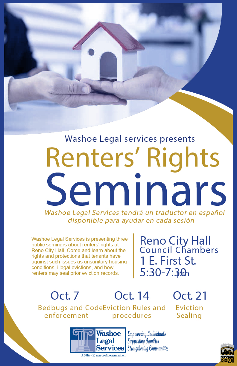 Washoe Legal Services Seminar - Renter Rights 2019