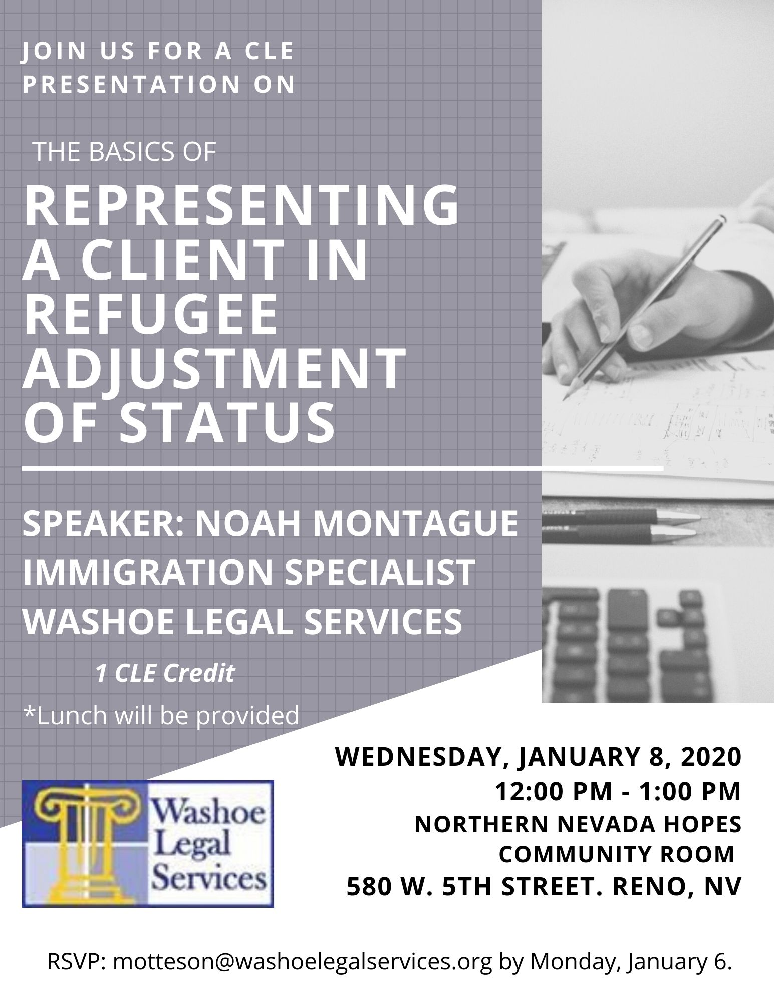 WLS - Continuing Legal Education - Immigration