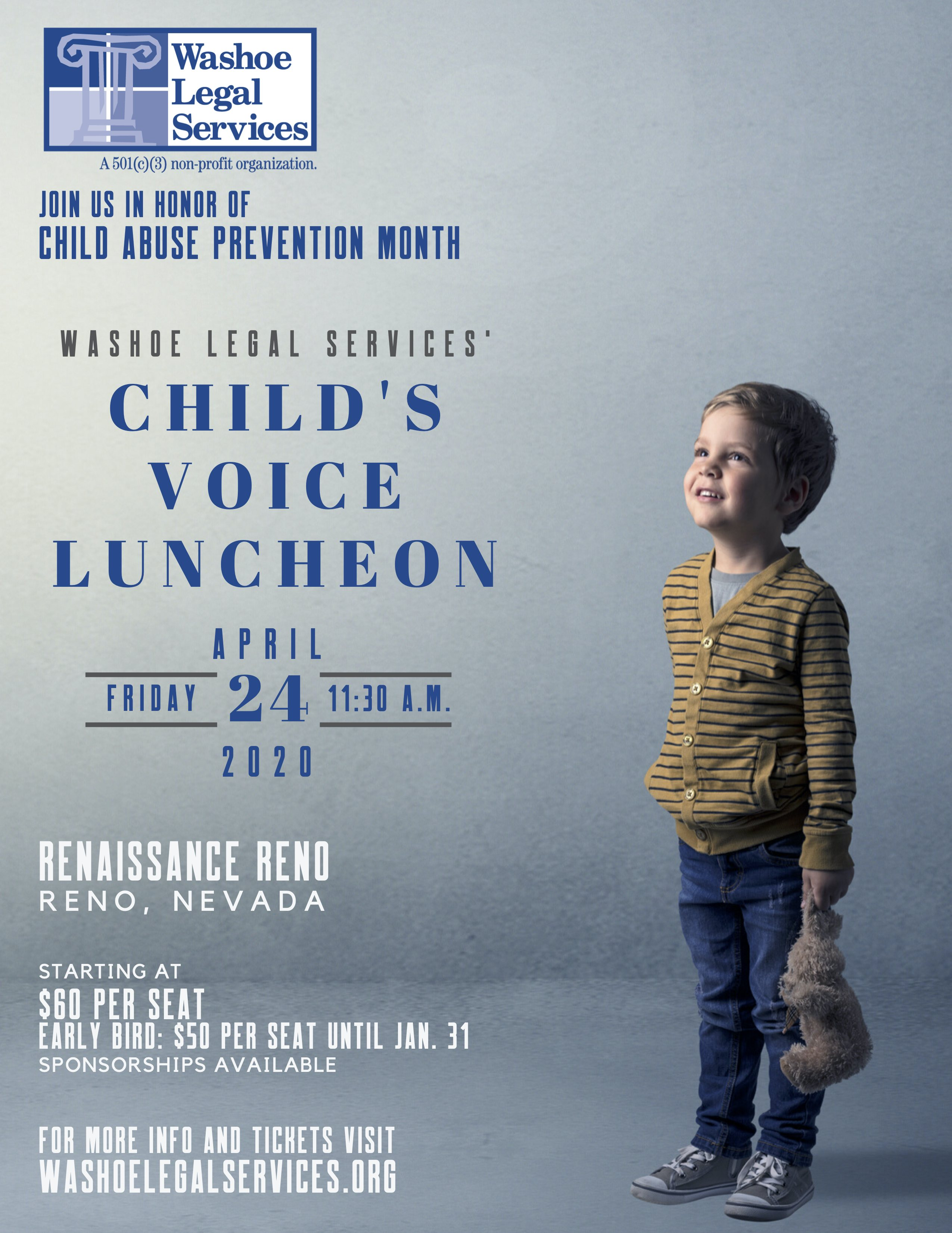 Washoe Legal Services - Childs Luncheon 2020