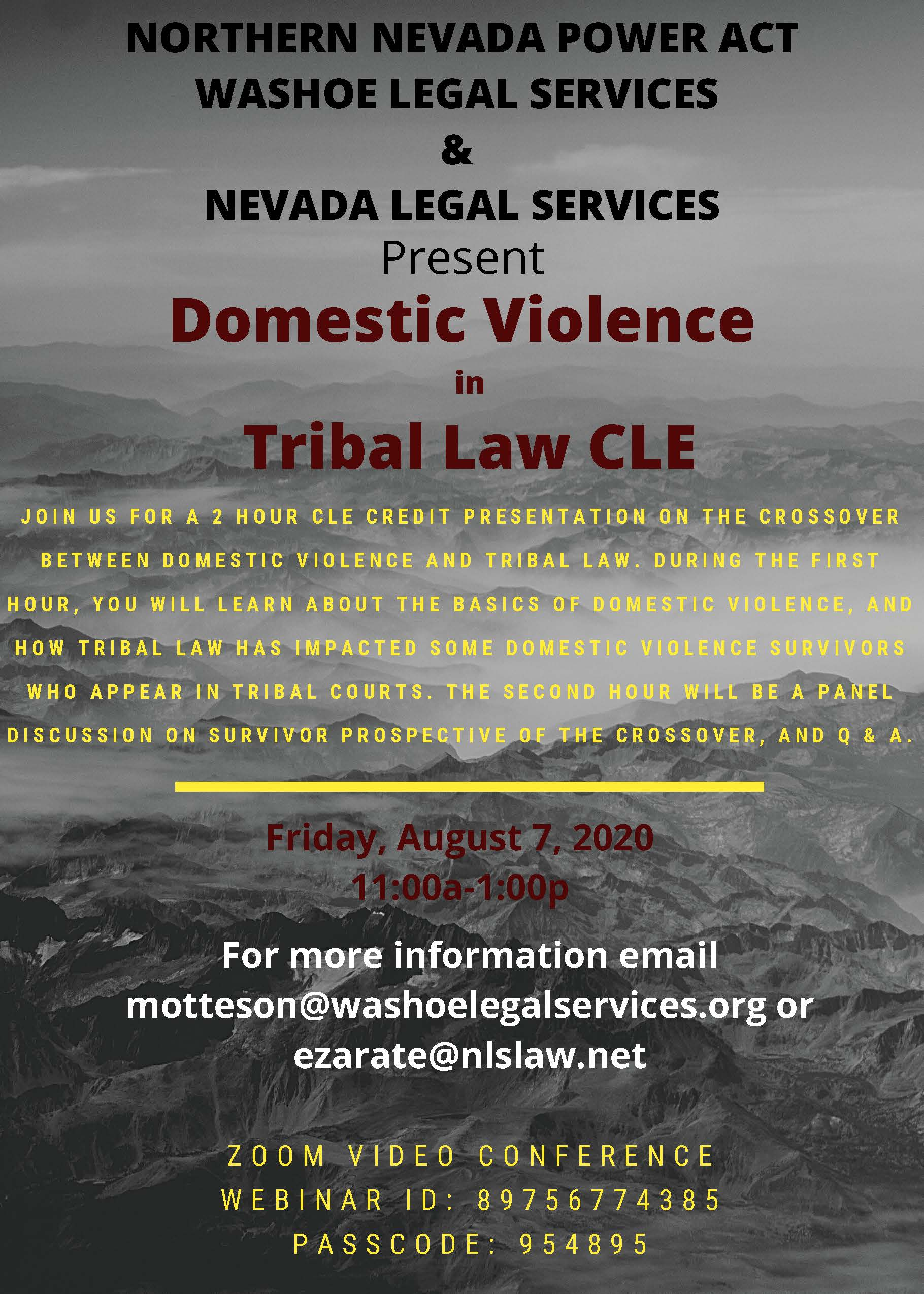 WLS - CLE - Tribal Law